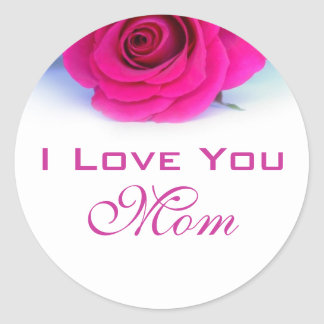 I Love You Mom Sticker