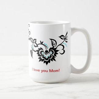 I love you Mom Tattoo design Mother's Day Mug
