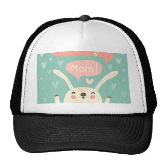 I LOVE YOU MOM TRUCKER HAT