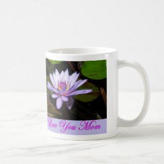 I love You Mom Water Lilly Mug