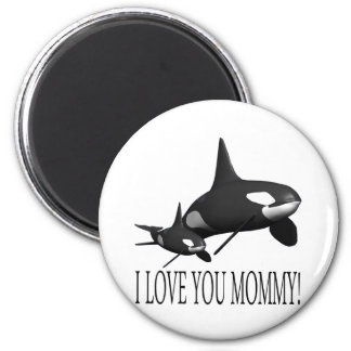 I Love You Mommy 2 Inch Round Magnet