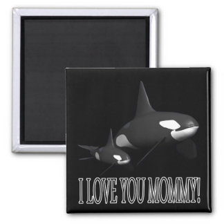 I Love You Mommy 2 Inch Square Magnet