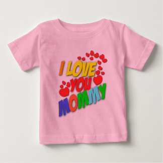 I Love You Mommy (front) I Love Daddy (back) shirt