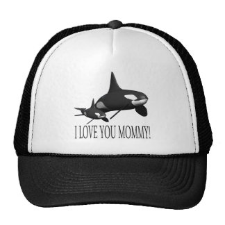 I Love You Mommy Trucker Hat
