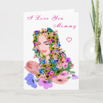 I Love You Mommy - Mother Card