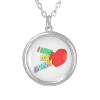 I Love You Mommy Necklace