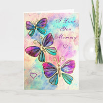I Love You Mommy - Pep Card