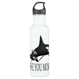 I Love You Mommy 24oz Water Bottle