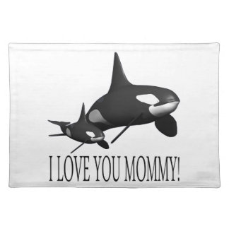 I Love You Mommy Placemat