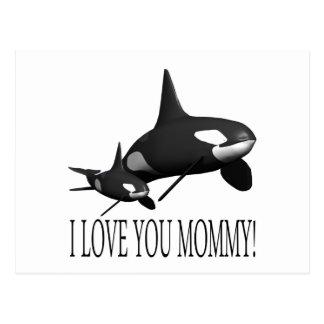I Love You Mommy Postcard