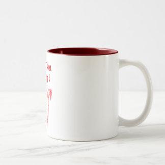 I Love You Mommy ! Two-Tone Coffee Mug