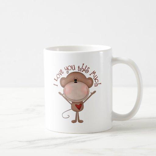 I love you MONKEY Coffee Mug
