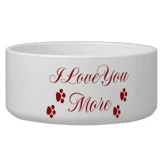 I Love You More Bowl