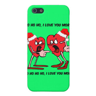 I love you more Christmas Cover For iPhone SE/5/5s