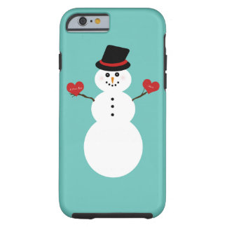 I Love You More Snowman Tough iPhone 6 Case