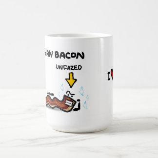 """I love you more than bacon"" Mugs"