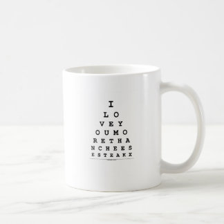 I Love You More Than Cheese Steak Coffee Mug