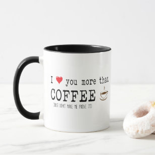 I Love Coffee Quotes Gifts On Zazzle