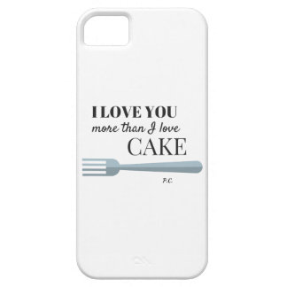 I Love You More Than I Love Cake Case