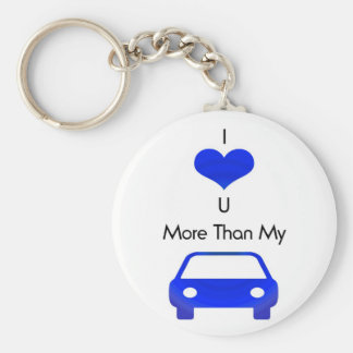I love you more than my car keychain