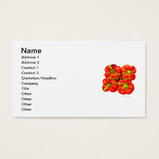 I Love You More Than Peppers Business Card