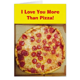 I Love You More Than Pizza 4Jojo Card
