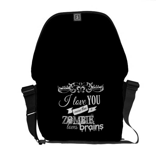 I LOVE YOU MORE THAN -.png Courier Bag