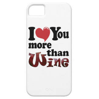 I Love You More Than Wine iPhone SE/5/5s Case