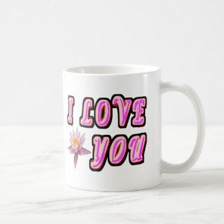 I Love You Classic White Coffee Mug