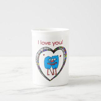 I love you mug hug for autism charity