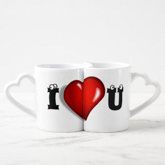 I love you mug set