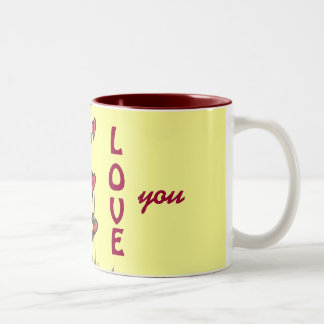 I Love You Mugs