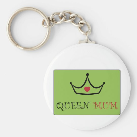 I Love You Mum Keychain