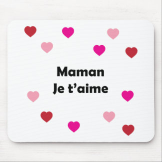 I Love You Mum Mouse Pad