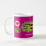 Hand shaped I love you mummy coffee mug