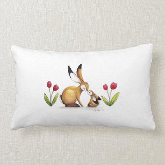 I love you Mummy Hare Lumbar Pillow