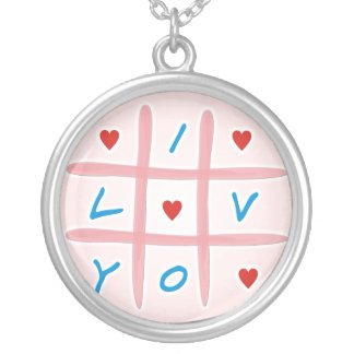 I Love You Personalized Necklace