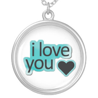 I Love You Necklace
