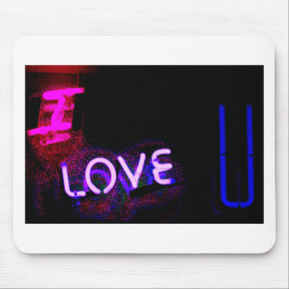 I love you neon light sign at night photograph rom alfombrilla de raton