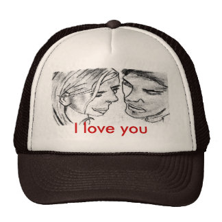 I love you (offer price 12,05€ place 14,95€) trucker hat