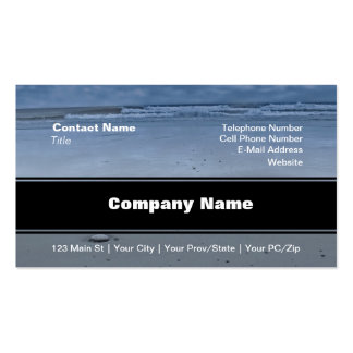 I Love You On The Beach Business Cards