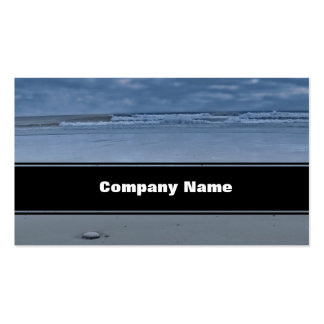 I Love You On The Beach Business Card Templates