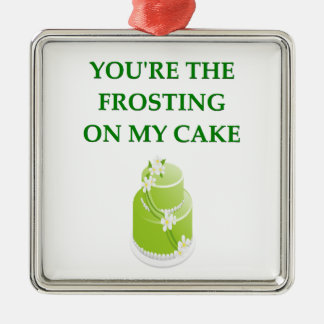 i love you christmas ornament