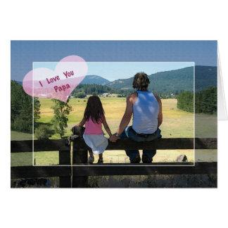 I Love You Papa Birthday Greeting Cards