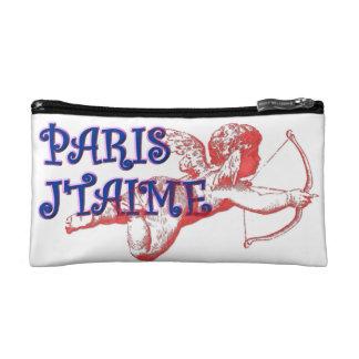 I love you Paris Cosmetic Bag