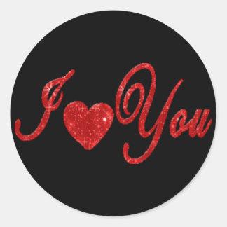 I Love You! - Peel Off Sticker