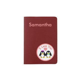 I Love You, Penguin Passport Holder
