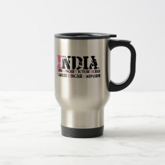 I Love You (Phonetic Alphabet) Travel Mug