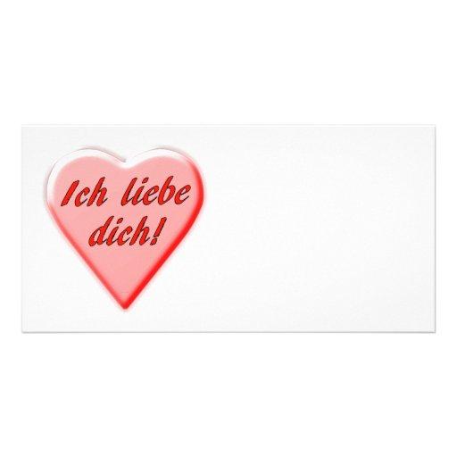 I Love You Photo Card