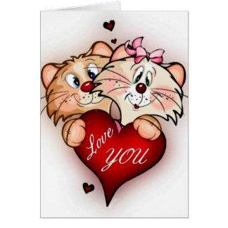 I Love You Picture Card
